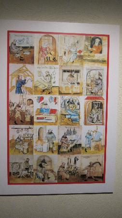 Medeltidsmuseet: Various trades in Medieval Times