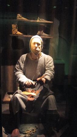 Stockholms medeltidsmuseum (Stockholmer Mittelaltermuseum): the village shoemaker