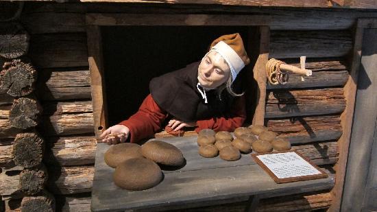 Stockholms medeltidsmuseum (Stockholmer Mittelaltermuseum): the town baker