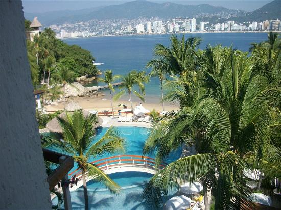 Park Royal Acapulco: Vista desde la habitacion