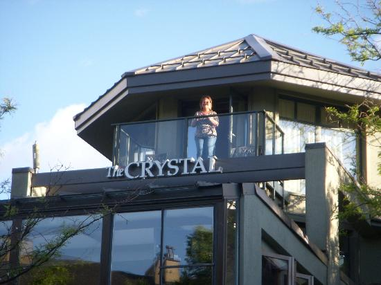 Crystal Lodge Hotel: The balcony of room 261