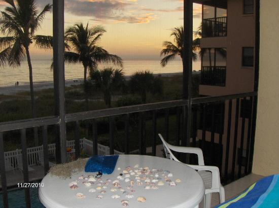 Ocean's Reach Condominiums: View from the lanai in 2B3