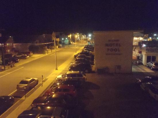 Hershey Motel: View from balcony--rm 418