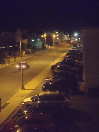 Hershey Motel: View of street
