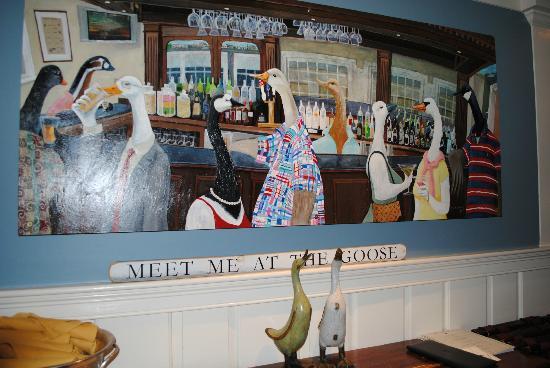 Wild Goose Tavern : painting