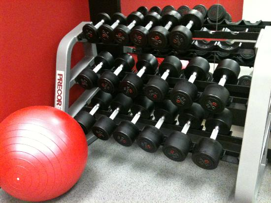Homewood Suites by Hilton Anchorage : Fitness Room