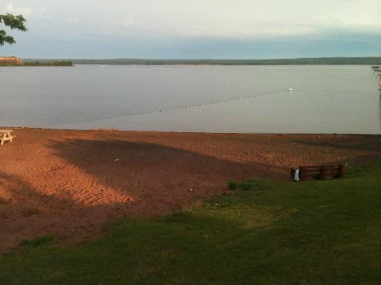 Super 8 Ashland: Beach on Lake Superior at Ashland Park Wi.