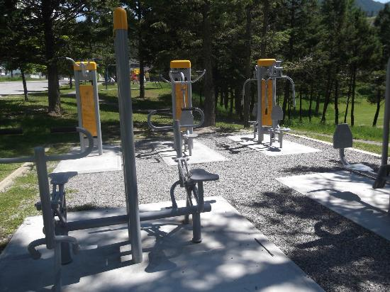 Big Horn Motel: Outside Gym