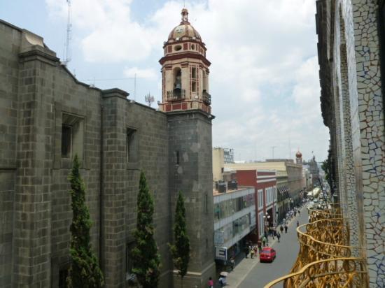 Provincia Express Puebla: Vista desde el balcón