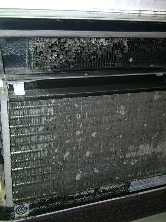 Quality Inn Midland: AC Unit, Cover Removed I