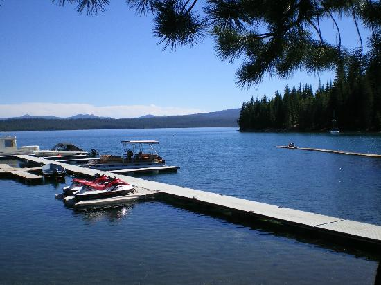 Hoodoo's Crescent Lake Resort: Crescent Lake