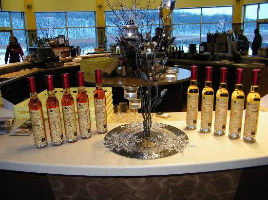 Niagara College Teaching Winery : Ice Wines