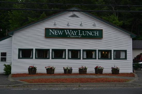 New Way Lunch: View of the Restaurant on a cloudy Saturday in July