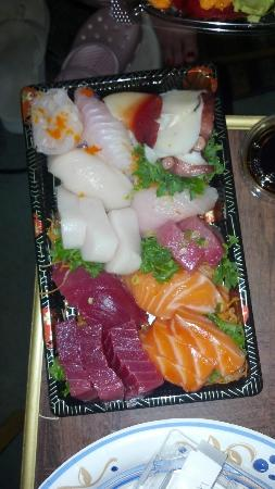 Nagoya Sushi: Love Boat for Two