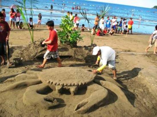 Dona Marta Boutique Hotel: Sand Castle contest