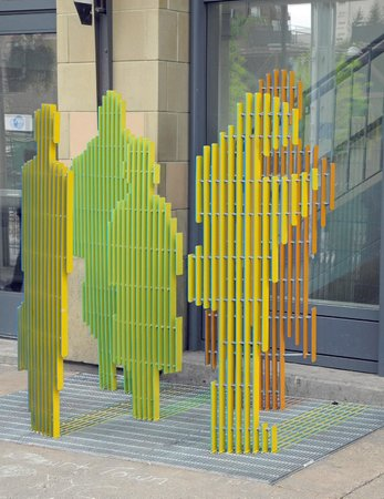 Transit Story Sculpture