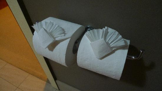 SummerHills Retreat Byron Bay: Cute little touch with the toilet paper