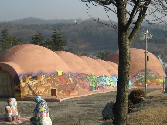 Icheon World Ceramics Center: huge kiln