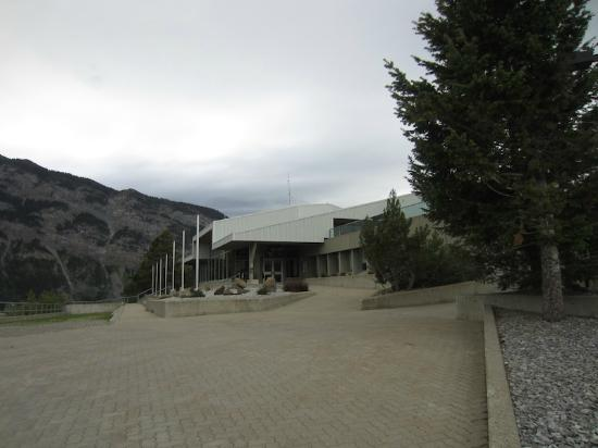 Frank Slide Interpretive Centre: Interpretive Centre for Frank Slide