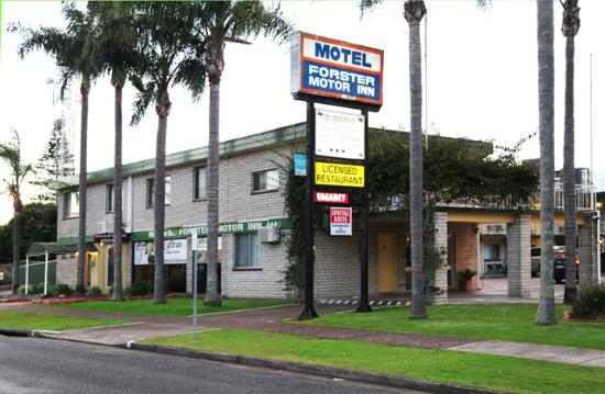 Forster Motor Inn: Great Location