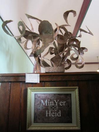 "Resurrect Art Coffee House Gallery : Paper  ""metal"" art work"