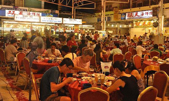 Suang tain seafood restaurant kota kinabalu