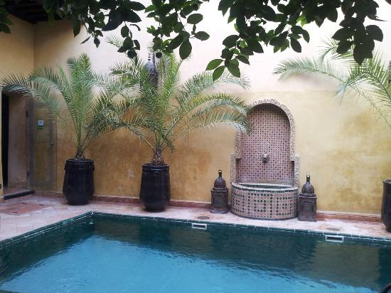 Riad du Petit Prince : A courtyard to chill in