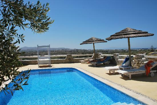 Naxian Collection: THE PRIVATE POOL AREA