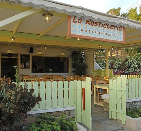 La Rosticceria: Terraza