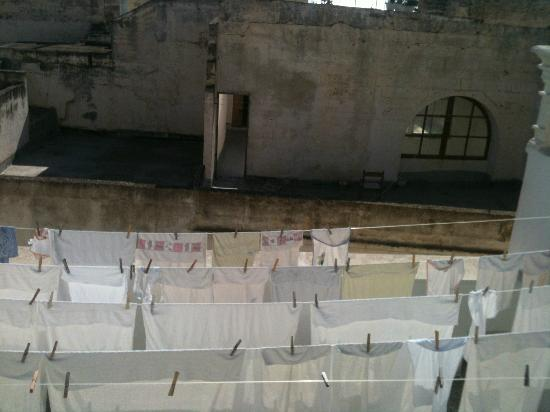 Senape de Pace Palazzo: White wash