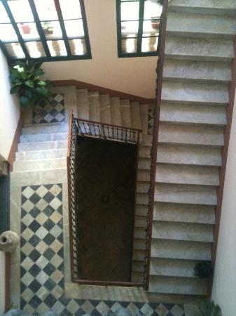 Senape de Pace Palazzo: Stairs