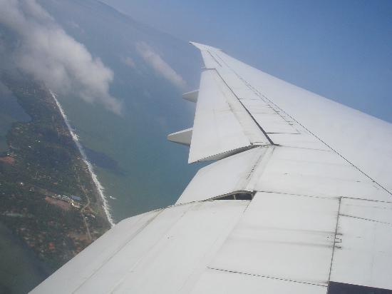 Club Hotel Dolphin: Sri Lanka von oben