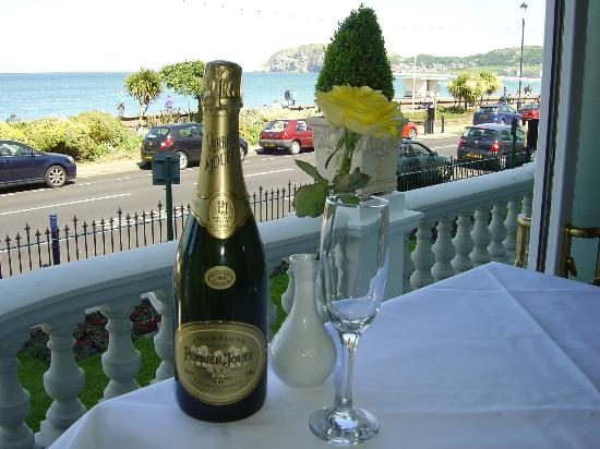 The Terrace at St Georges: Menu with locally sourced ingredients