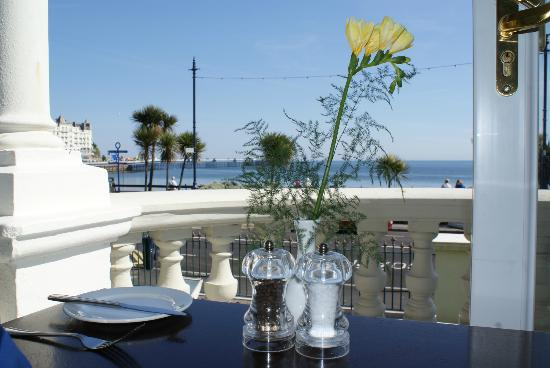 The Terrace at St Georges: Great food and relaxed service