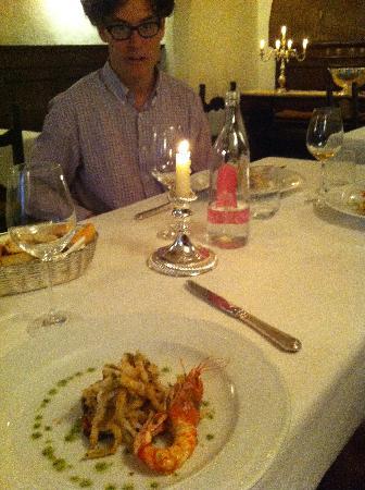 Tre Cristi Enoteca Ristorante: Fish+ Wine