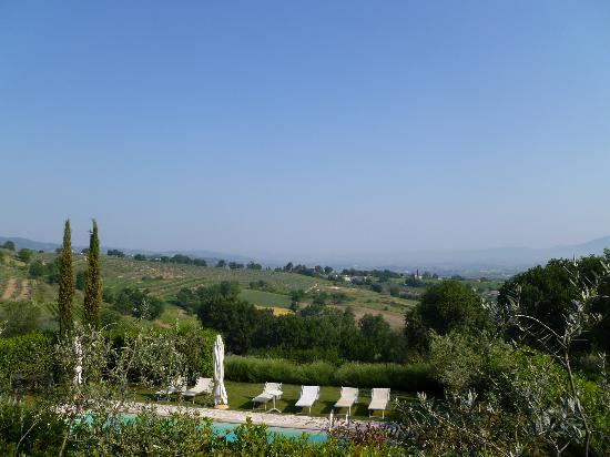 La Cardoncina: Blick zum Pool