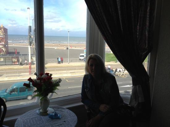 The Camelot Seafront Hotel: our view