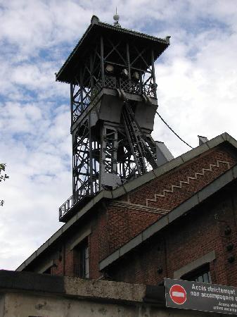 Centre historique minier - Musee de la Mine : Le chevalement