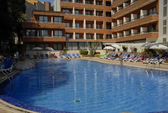 HSM Madrigal: Pool area