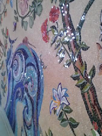 Church of the Transfiguration: Mosaic detail
