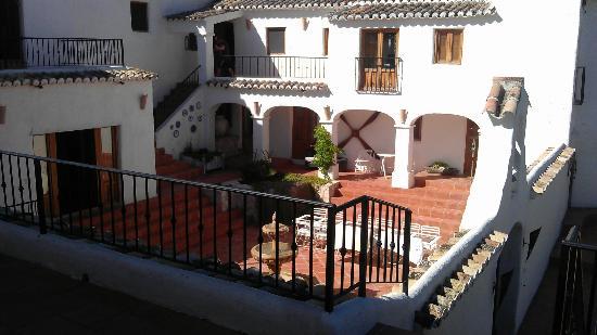 Cortijo Las Salinas: The courtyard
