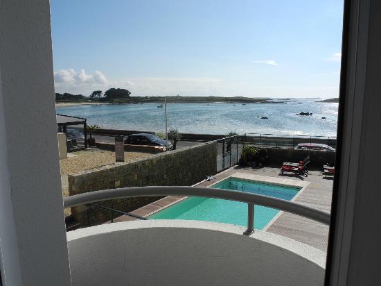 Hotel Le Castel Ac'h : Sea View