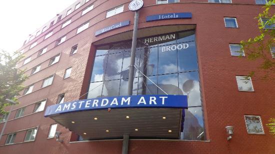 WestCord Art Hotel Amsterdam: Fachada