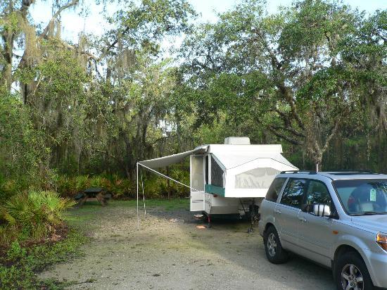 Lake Manatee State Park: campsite 26
