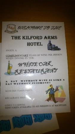 Kilford Arms Hotel: Promoting alcoholism much?