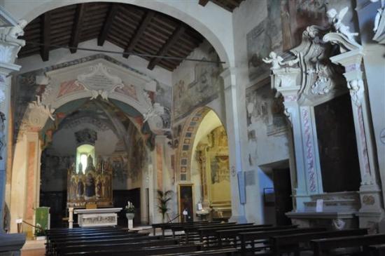 Chiesa di San Giorgio: ...in der Kirche.....
