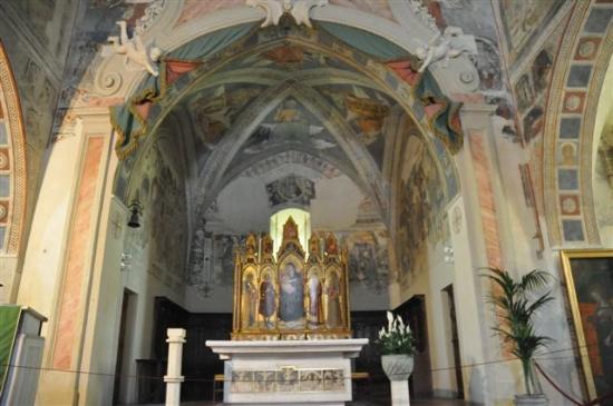 Chiesa di San Giorgio: ...Fresken, Fresken, Fresken...