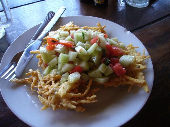 Dewa Warung: potato cake - appetizer