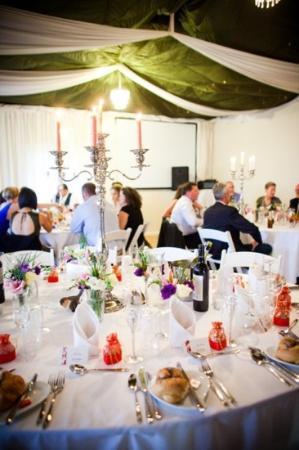 Sylvan Glen Country House: reception understated elegance