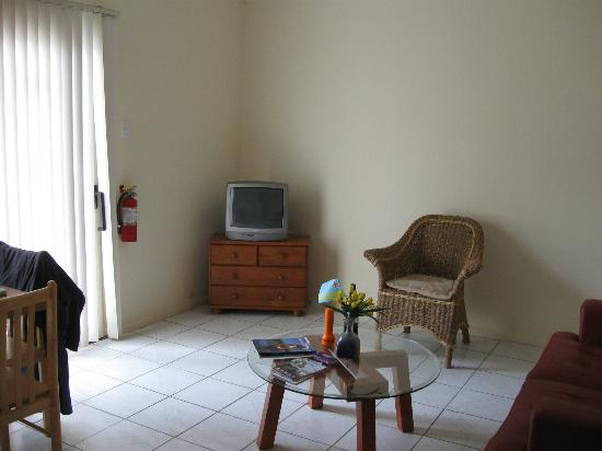 Camacuri Apartments Aruba: Gedeelte van de woonkamer